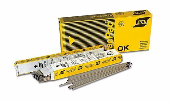 Электроды  ESAB OK 53.70 2.5x350mm 1/2 VP Швеция, пачка 10,2 кг ( 6х1,7)
